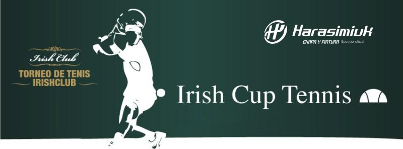 Harasimiuk sponsor del Irish cup Tennis